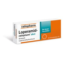 LOPERAMID RATIO AKUT 2MG