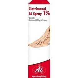CLOTRIMAZOL AL SPRAY 1%